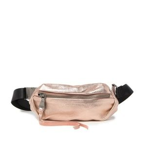 AIMEE KESTENBERG // rose gold fanny bum bag rare